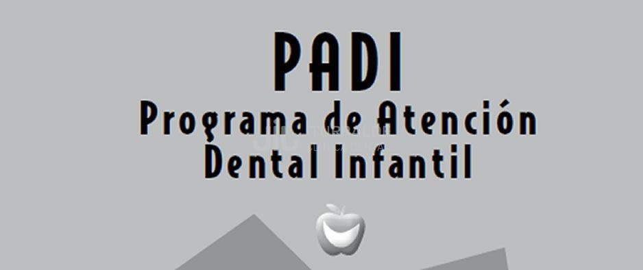 PADI 2021- Programa de Atención dental Infantil 2021